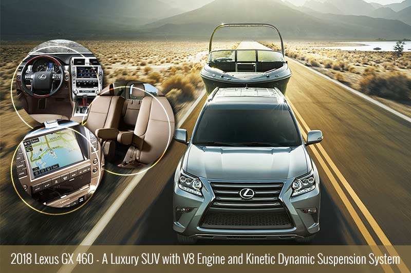 2018 Lexus GX 460 - A Luxury SUV with V8 Engine and Kinetic Dynamic Suspension System