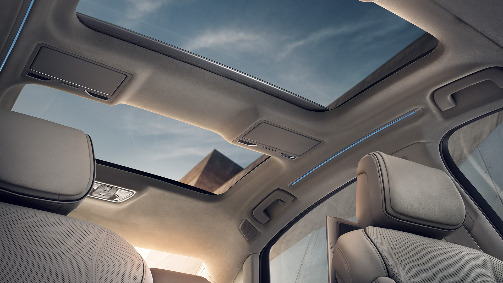 Interior of the 2018 Audi A8