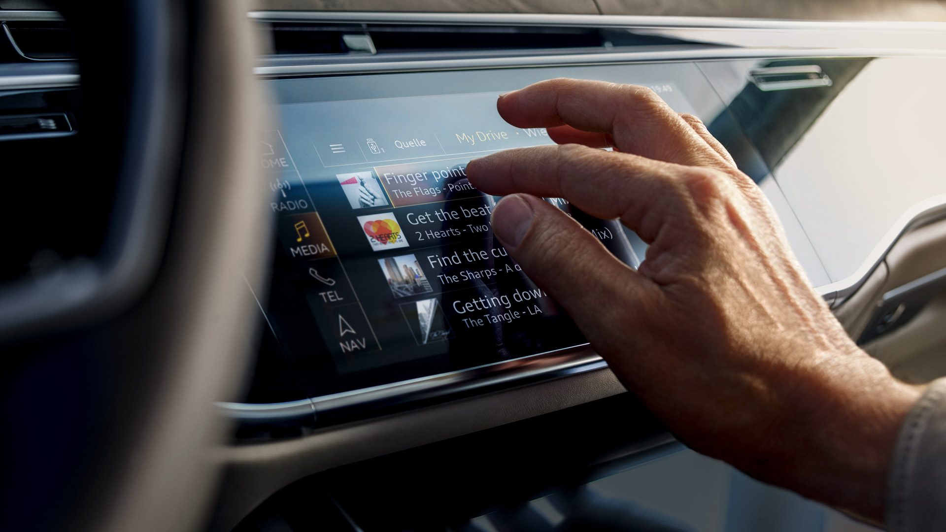 Technology Features of the 2018 Audi A8