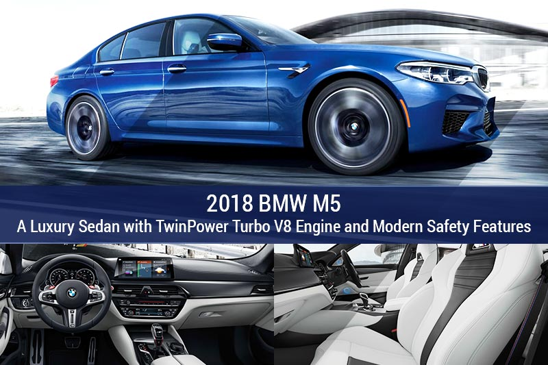 2018 BMW M5 Luxury Sedan