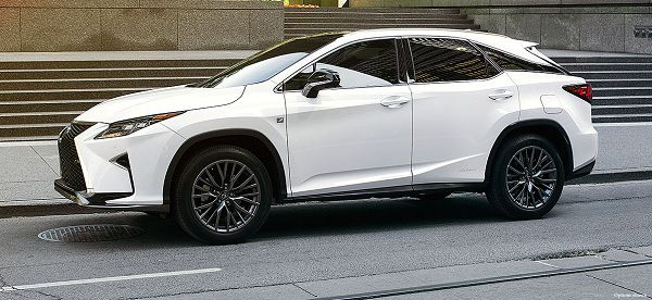 Design Of 2017 Lexus Rx 450h F Sport