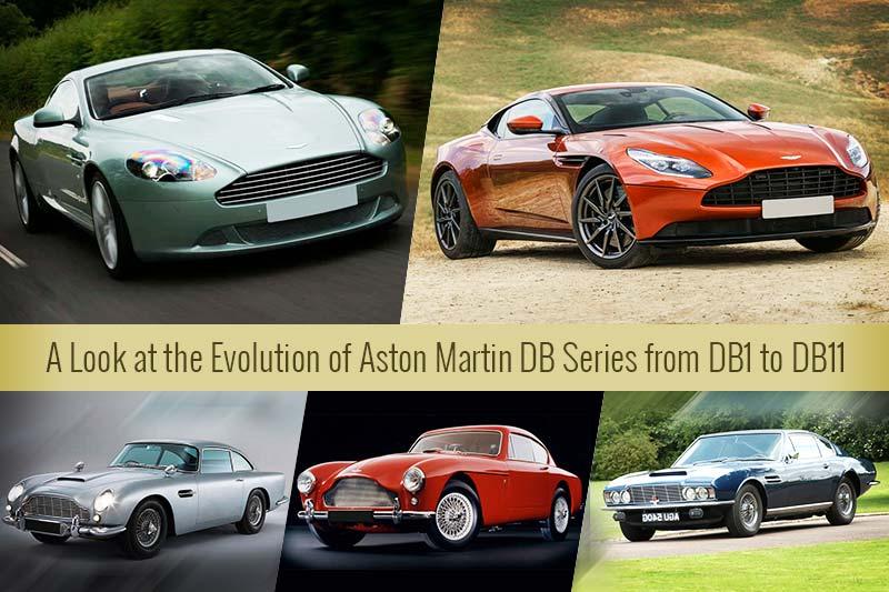 Evolution Of Aston Martin Db Series Buymyluxurycar Com