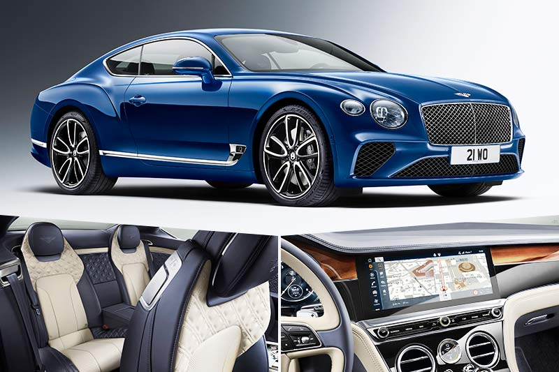 2018 Bentley Continental Gt A Luxury Coupe With New Twin